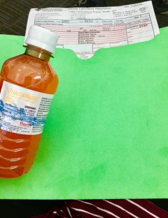 Glucose test ;(